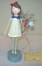 """Bethany Lowe """"Firecracker Girl"""" Patriotic Figure by Michelle Lauritsen (ML9273)"""