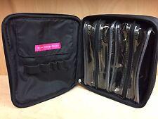 Bare Escentuals BLACK Travel Organizer Makeup Bag w/brush holder /removable bag