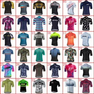 Pro Team Summer Mens Cycling Jersey Short Sleeve Bike Shirts Bicycle Sport Tops