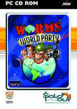 Worms World Party PC CD ROM GAMES