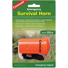 Coghlan's supervivencia de emergencia cuerno animal alerta para Senderismo Camping Silbato De Rescate