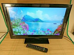 21.5 Inch Flat Screen LCD TV & Integrated DVD Player With Remote - Tesco 22-830