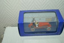 By Car Tintin The Bolide Red Of Cigars Of Pharaohs Metal New Herge