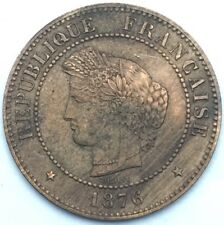 France Ceres 5 centimes 1876 A bronze #1094