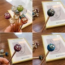 Fashion Crystal Accessories Hair Stick Clips Gorgeous Women's Chopsticks Hairpin