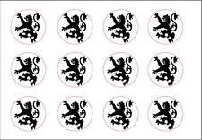 Medieval Knight Lion Rampant Blazon Heraldry Seal Rubber Stamp Royal Battle War