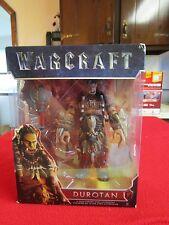 "World Of Warcraft Durotan 6"" Action Figure With Battle Axe Legendary New WOW"