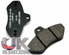 Righetti Ridolfi Brake Pad Set Hard (Black) UK KART STORE