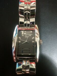 Ladies GC Dual Time Guess Collection Swiss Made 50 Meters Watch GC1000