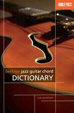 Berklee Jazz Guitar Chord Dictionary by Rick Peckham | Paperback Book | 97808763
