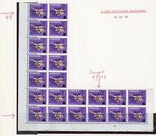 Jamaica 1969 Overprint Varieties & Flaws - 4c SG283, L Block with 3 Varieties
