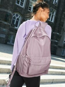 NWT VICTORIA'S SECRET PINK CLASSIC BACKPACK DREAMY LILAC LIGHTWEIGHT NEW