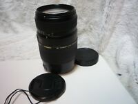 Tamron 70-300mm F4-5.6 LD DI Macro Zoom Lens. Canon EOS excellent condition