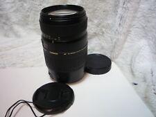 Tamron 70-300 mm F4-5.6 LD Di Macro Lente de zoom Canon EOS Excelente Estado.