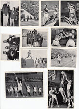 1952 Summer Olympic Games Helsinki  complete Set 200  German cig Cards