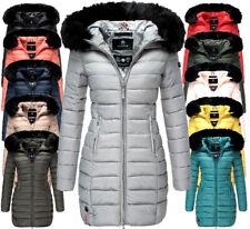 Marikoo Damen Winter Jacke Stepp mantel parka Steppjacke langejacke ROSE110 NEU