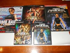 Tomb Raider Bundle for Ps2 - 2 Games, 2 Manuals & Playstation Magazine