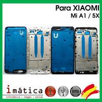 MARCO INTERMEDIO PARA XIAOMI MI A1 / 5X NEGRO BLANCO CHASIS FRAME PANTALLA LCD