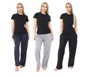 Ladies Womens Pyjamas pj Set Long Sleeve Top Nightwear LoungeWear pajamas pyjama