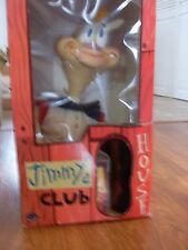 """REN & STIMPY JIMMY the Idiot 24"""" Tall DOLL in CLUBHOUSE BOX SPUMCO W/COMIC BOOK"""