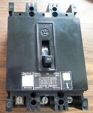 WESTINGHOUSE CUTLER-HAMMER CIRCUIT BREAKER 600 VAC PART NUMBER FB3060L