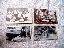 LOT OF 15 HAWAII HAWAIIAN POSTCARDS + POSTCARD BOOKLET WITH 18 PICTURES