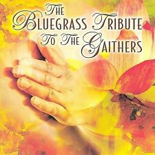 FREE US SHIP. on ANY 2+ CDs! ~Used,Good CD Bluegrass Tribute to the Gaither: Blu