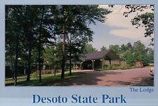 The Lodge at Desoto State Park, Fort Payne, Alabama, Little River AL -- Postcard