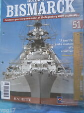 BUILD THE BISMARCK HACHETTE  ISSUE 51  NEW SEALED