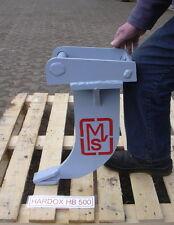MVS Roderechen Wurzelrechen MS01 Hardox 500 Reißzahn Bausatz zum Eigenbau