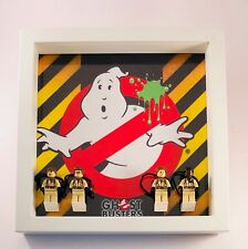 Minifigure Display Case Frame Lego Ghostbusters  Minifigs figures