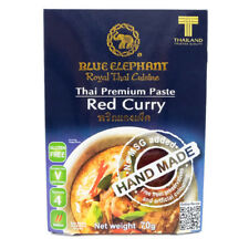70g Blue Elephant Spicy Red Curry Kaeng Phet Paste Authentic Thai Cooking Recipe