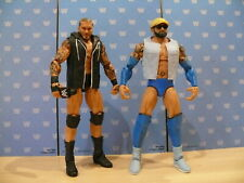 WWE MATTEL ELITE SERIES FLASHBACK WRESTLING FIGURES RANDY ORTON & BATISTA LOT