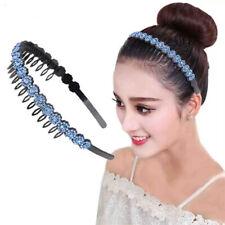 Fashion Women's Crystal Headband Hairband Flower Hair Band Hoop Accessories Prom