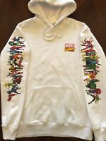 MARVEL SUPERHEROES HOODIES Men's Hooded Sweatshirt NEW Sizes XS,S, M, L, XL, XXL