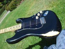 1976 Fender Stratocaster Black Vintage USA Original Finish