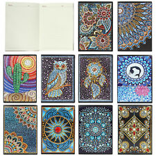 DIY Diamond Painting A5 Notebook Journal Diary Book Student Drawing Notepad Memo
