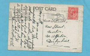 1923 Postcard Blackpool British Empire Exhibition Slogan Postmark