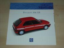 55140) Peugeot 306 XR Prospekt 01/1993