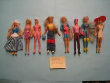 "lot de 8 mini poupées Mattel ""Barbie"" 12cm  lot N°M03"