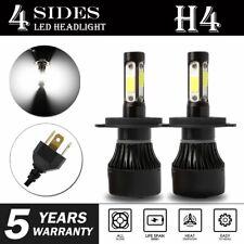 CREE H4 HB2 9003 2400W 360000LM 4-Sides LED Headlight Kit Hi/Lo Power Bulb 6000K