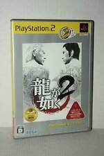 Ryu ga Gotoku 2 GIOCO USATO OTTIMO SONY PS2 EDIZIONE GIAPPONESE NTSC/J TN1 49534