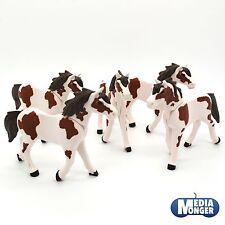 playmobil Western Centre équestre Set : 5 x Cheval brun blanc 3. Generation