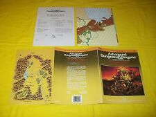 H3 The Bloodstone Wars Dungeons & Dragons Ad&D Tsr 9200 - 1 Module With Map