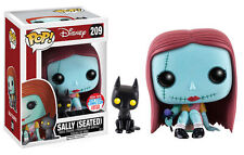 Pop Vinyl The Nightmare Before Christmas - Sally (seated) With Cat NYCC 2016 U
