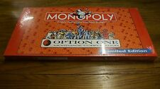 Monopoly Option One edition sealed new in box Limited Edition