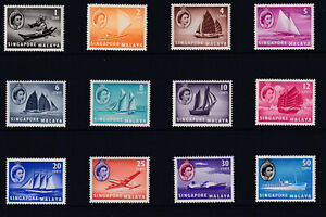 1955 Issue in unmounted mint (MNH) stamps. Values to 50c (12 Values). Very Fine.