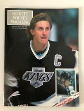 Beckett Hockey Magazine #1 Wayne Gretzky LA Kings Patrick Roy NM