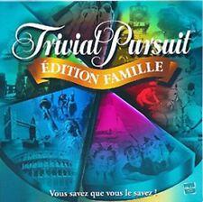 Jeu de société Trivial Pursuit Edition famille - Hasbro - 2001 - Boîte usée