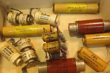 11 Antique/NOS/ HAM /Radio Coil Resistor Plug BAKELITE/UNUSED MINT SALE5